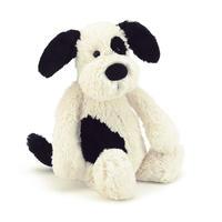 Bashful Black & Cream Puppy Medium / JELLYCAT(ジェリーキャット)