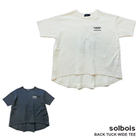 バックタックTシャツ  / ソルボア