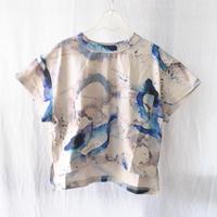 Tシャツ POCKET WIDE S/S TEE Mother SEA   / arkakama(アルカカマ)