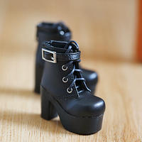 DD,DDS,DDDY,SD ドルフィードリーム 靴 ショートブーツ(ブラック)