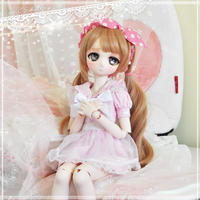 MDD服 ミニドルフィードリームお洋服 制服ワンピース(ピンク)