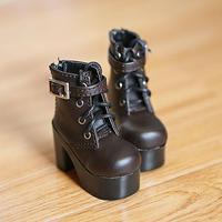 DD,DDS,DDDY,SD ドルフィードリーム 靴 ショートブーツ(ブラウン)