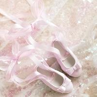 MDD 1/4 ドール靴 ミニドルフィードリーム靴 リボンレース パンプス(ピンク)
