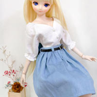 DD,1/3服 ドルフィードリーム シャツ、スカート セット服