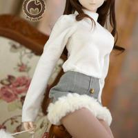 DD,1/3 ドルフィードリーム衣装 モコモコお洋服セット