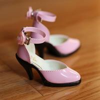 DD ドール靴 Dollfie Dream エナメルパンプス(ピンク)