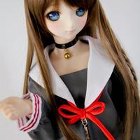 DD,1/3 ドルフィードリーム服 私立 セーラー服 制服セット 人形洋服