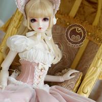 DD SDGR SD16 森ドレス ドルフィードリーム洋服(ピンク)