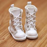 MDD靴 ミニドルフィードリーム靴 ショートブーツ ドールサイズ(ホワイト)