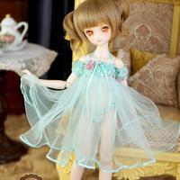 MDD ドール Dollfie Dream ネグりジェワンピース(水色)