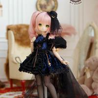 MDDドレス ミニドルフィードリーム  人形用 ドールサイズ ドレスアップ セット服