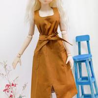 DDドルフィードリーム服 人形用 ノースリーブ ワンピース