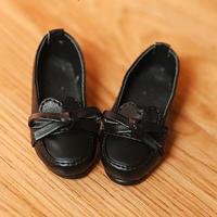 MDDサイズ 靴 ミニドルフィードリーム 制服用 ローファー シューズ(ブラック)