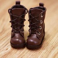 MDD靴 ミニドルフィードリーム靴 ショートブーツ ドールサイズ(ブラウン)