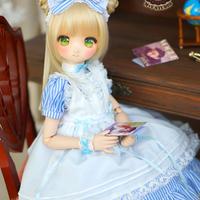 MDD/SDM ミニドルフィードリーム洋服 メイドワンピース(ブルー)