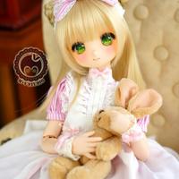 MDD/SDM ミニドルフィードリーム洋服 メイドワンピース(ピンク))