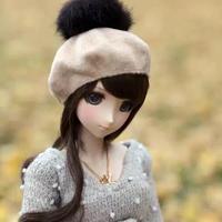 DDドルフィードリーム洋服 ファッション小物 ぽんぽん帽子