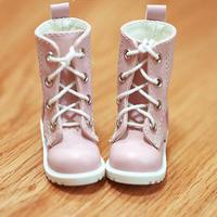 MDD靴 ミニドルフィードリーム靴 ショートブーツ ドールサイズ(ピンク)