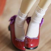 MDDサイズ ドール靴 ミニドルフィードリーム リボンパンプス