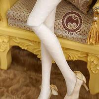 DD,DDS,DDDY,SD ドルフィードリーム靴下 編みタイ ソックス(ホワイト)
