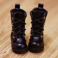 MDD靴 ミニドルフィードリーム靴 ショートブーツ ドールサイズ(ブラック)