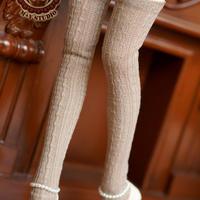 MDD,MSDサイズ ミニドルフィードリーム靴下 ロングソックス(ブラウン)