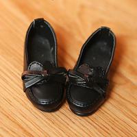 DD 靴 ドルフィードリーム シューズ 人形用 ローファー(ブラック)