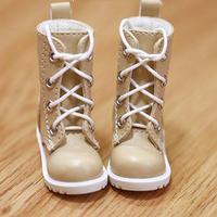 MDD靴 ミニドルフィードリーム靴 ショートブーツ ドールサイズ(キャメル)