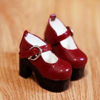 DD,DDS,DDDY,SD ドルフィードリーム 靴 パンプス(レッド)