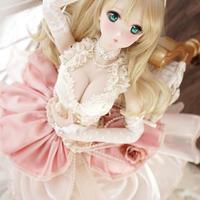 DD,SD16,1/3 ドルフィードリーム服 ドールドレス 豪華衣装セット 人形用