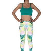 Yoga Chandra レギンス DIAMOND TROPICS