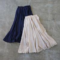 APPRECIATIVE Gathered long skirt