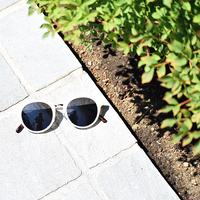 272967023 White Frame Sunglasses