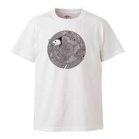 一部在庫有り/猫と怪魚/Tシャツ