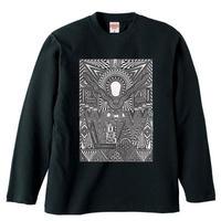 【新作】 無貌の神コラボレーション ロングTシャツ
