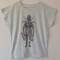 【レディースTシャツ】タコ怪人