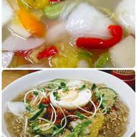 無化調スープマニマニ冷麺セット