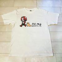 猫と一緒Tシャツ
