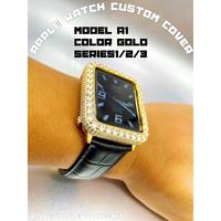 最上級モデル■シリーズ123 A1 ゴールドczダイヤモンドカバーシリーズ123用