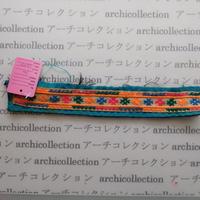 Hmong モン族 はぎれno.100  24x4 cm 刺繍布 古布 山岳民族 hilltribe ラオス タイ
