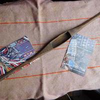 織り 織機 シャトル 杼 使用可 ストアーズno.24  60 g  全長51巾3.4高2.1 内径長8.2巾2.9深1.9cm shuttle 木製 オールド