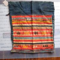 STORES アカ族 はぎれソックス脚絆NO. 7 31X33cm タイ ミャンマー北部山地岳 民族衣装 本物 手仕事 刺繍