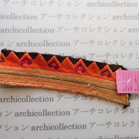 Hmong モン族 はぎれno.201 20x6 cm 刺繍布 古布 山岳民族 hilltribe ラオス タイ