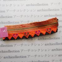 Hmong モン族 はぎれno.202  20x5 cm 刺繍布 古布 山岳民族 hilltribe ラオス タイ