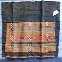 STORES アカ族 はぎれソックス脚絆NO. 4 29X29cm タイ ミャンマー北部山地岳 民族衣装 本物 手仕事 刺繍