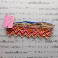 Hmong モン族 はぎれno.33  17x6 cm 刺繍布 古布 山岳民族 hilltribe ラオス タイ