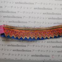 Hmong モン族 はぎれno.123  25x5 cm 刺繍布 古布 山岳民族 hilltribe ラオス タイ
