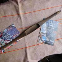 織り 織機 シャトル 杼 使用可 ストアーズno.23  50 g  全長42巾3.2高2.2 内径長7.7巾2.5深1.5cm shuttle 木製 オールド