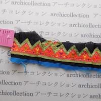 Hmong モン族 はぎれno.62  21x6 cm 刺繍布 古布 山岳民族 hilltribe ラオス タイ
