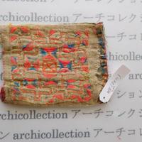 Hmong モン族 はぎれno.280  8x11 cm 刺繍布 古布 山岳民族 hilltribe ラオス タイ